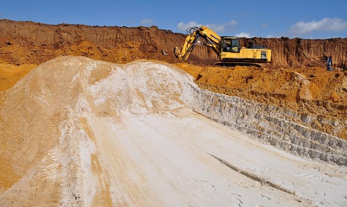 Месторождение кварцевого песка