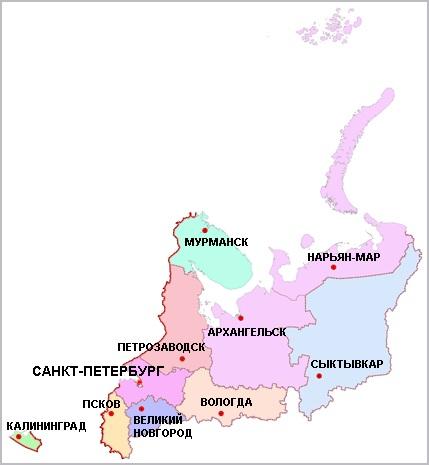КАРЬЕРЫ Северо-Западный Федеральный Округ