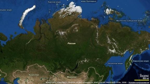 Легализация подробных карт России